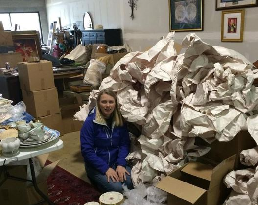 The paper mountain